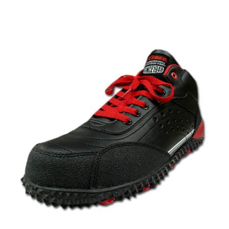 安全靴安全运动鞋XEBEC G别克85129轻量树脂的前方芯时尚的防滑安全运动鞋男女兼用23.0-29.0cm黑色黑
