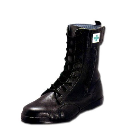 ユニセックス みやじま鳶 高所用安全靴 ノサックス M208 半長靴 Nosacks メンズサイズ ブラック