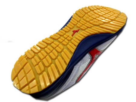 安全鞋安全运动鞋美津浓美津浓全能 C1GA1600 安全鞋树脂对核心 24.5 ~ 30.0 厘米线类型 x 红白色 / 海军