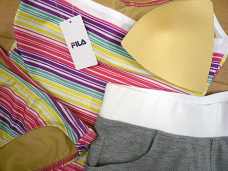 fila bikini yellow