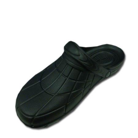 滑りにくい クロッグタイプ EVAサンダル 価格 交渉 送料無料 スリッパ 作業用 捧呈 サンダル 軽量 滑り止め カルカル仕事人 HM9050 穴なし M 黒 LL SS 作業靴 3Lサイズ S L 女性サイズ対応 ブラック