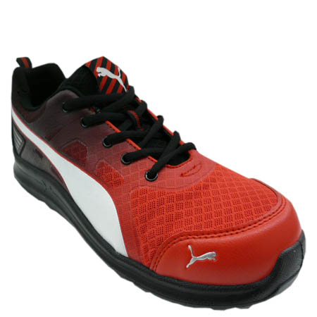 Safety boots security sneakers PUMA SAFETY Puma safety shoes Marathon Red  Low marathon red low No. 64.336.0 resin reinforcing material in the toecap  cushion ... 616fc9bba
