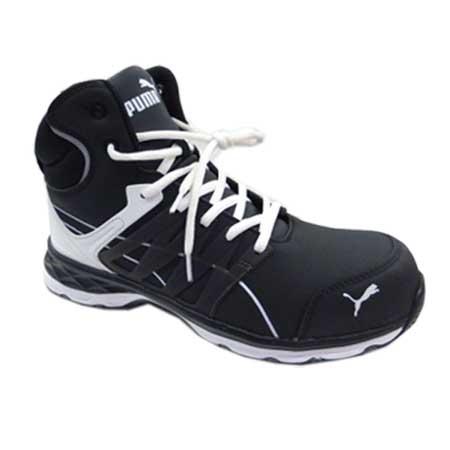 プーマ安全靴 エレメントプロテクト 安全スニーカー 限定品 幅広 安全靴 送料無料 PUMA SAFETY プーマ セーフティシューズ 25.0~28.0cm ハイカット ブラック Velocity2.0 ヴェロシティ2.0 No.63.342.0 格安激安 樹脂先芯