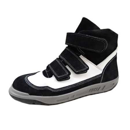 安全靴 安全スニーカー 青木産業 N4901 ZEBURA 白 ハイカット マジック 25.0~27.0 28.0