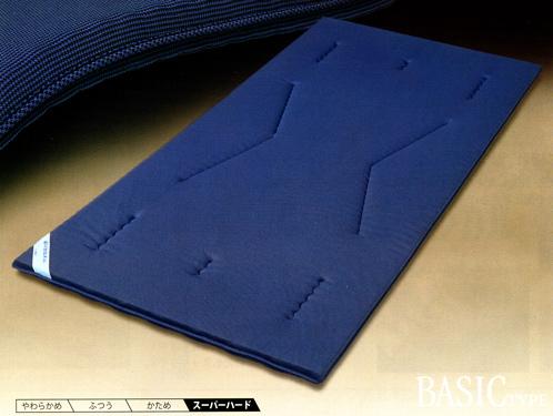 ローズラジカル敷き布団 送料無料ベーシック 敷布団 シングルサイズ S ブルー