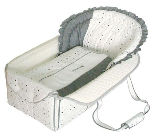 【送料無料】 クーファン ■ベビーポルカ■ バッグdeクーファン モノトーン OC-800 クーハン ベッド お昼寝 ベビー布団 出産祝 育児 フジキ 日本製