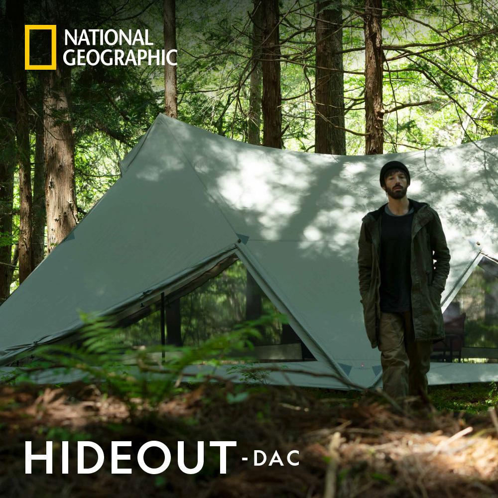 ナショナル ジオグラフィック (National Geographic) HIDEOUT-DAC テント シェルター キャンプ アウトドア ニューテックジャパン【DACのポールを標準搭載】