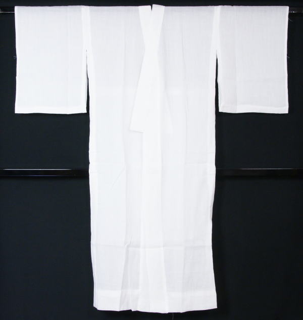 長襦袢 麻 新品 夏物 本麻100%手もみ楊柳長襦袢 Lサイズ (日本製) 送料無料 【リサイクルきもの・リサイクル着物・通販・販売・アンティーク着物・着物買い取り・きもの天陽  kimono 中古品