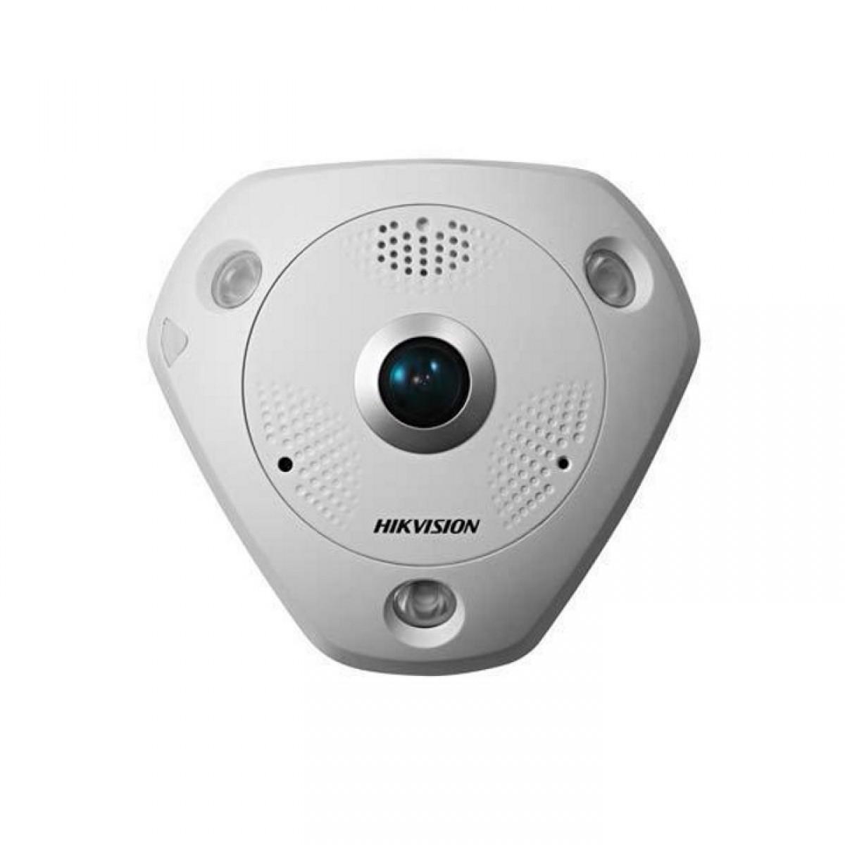 【 屋内用 360° ネットワーク 全方位 カメラ 】 防犯カメラ 監視カメラ IP 12メガピクセル 約1200万画素 4k 360度 カメラ HIKVISION(ハイクビジョン) DS-2CD63C2F-IS
