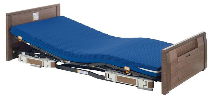 プラッツ ラフィオ ポジショニングベッドシリーズ 背上げ1モーター 木製フラットボード P110-11BAS/R/L ショート/レギュラー/ロング