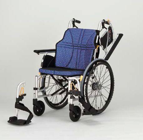 【一部送料無料】 日進医療器 自走式車いす NA-U2W ウルトラシリーズ U2Wタイプ