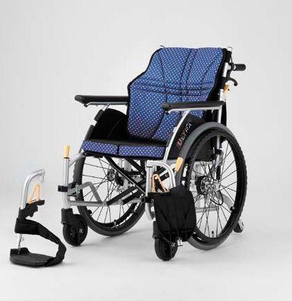 【条件付き送料無料】 日進医療器 自走式車いす 家屋内専用 NA-U6 ウルトラシリーズ U6(6輪)タイプ