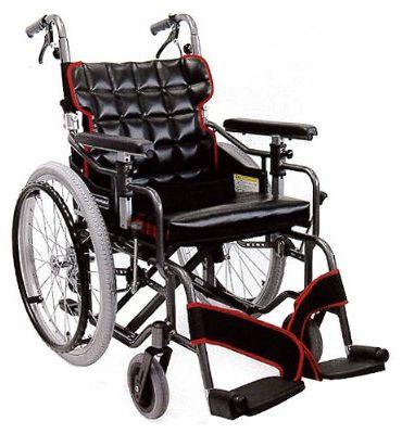 カワムラサイクル 車椅子 車イス アルミ自走式車いす KM20-40SB-SL 超低床