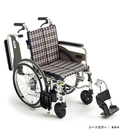 【送料無料】車椅子/車イス自走式車いすミキ SKT-4Lo低座面(座幅40・42)