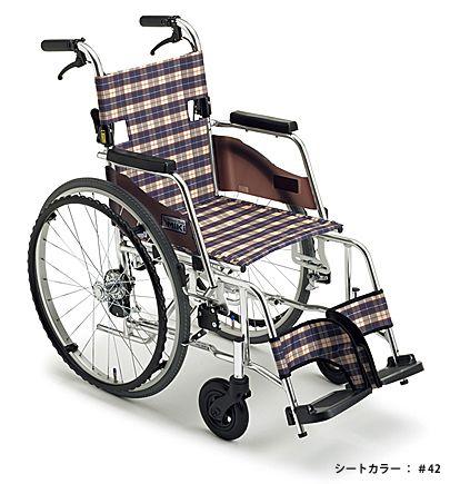 【送料無料】車椅子/車イス自走式車いすミキ SKT-3