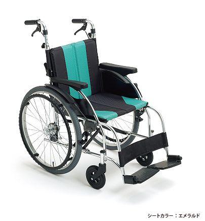 【送料無料】車椅子 車イスミキ 自走型 車いすUR-1アップライトシリーズUR series