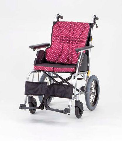 【条件付き送料無料】 日進医療器 介助式車いす NAH-U1 ウルトラシリーズ U1タイプ