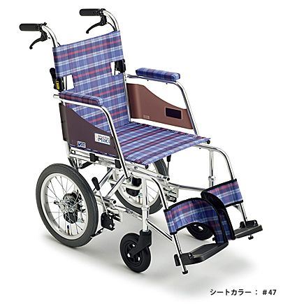 【送料無料】車椅子/車イス介助型車いすミキ SKT-1