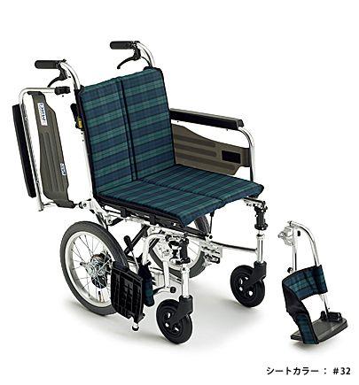 【送料無料】車椅子/車イス介助型車いすミキ SKT-2