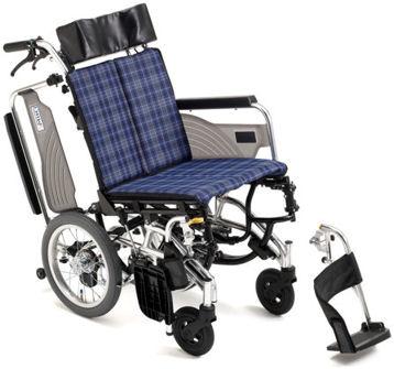 【送料無料】車椅子/車イスアルミ製ティルト車いすミキ SKT-7 スキット7
