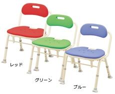 アロン化成 安寿 シャワーチェア 折りたたみ シャワーベンチIN-S 536-340/2/6
