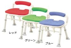 アロン化成 安寿 シャワーチェア コンパクト折りたたみ シャワーベンチIC (骨盤サポートタイプ) 536-380/2/6