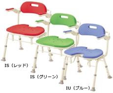 アロン化成 安寿 シャワーチェア 折りたたみ シャワーベンチIS 536-320/2/6