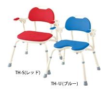 安寿 アロン化成 ひじ掛け付きシャワーベンチ TH-U U型 536-150/2