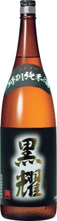 【お取り寄せ品】特別純米 黒耀 【1800ml×6本 ケース販売】【清酒】【日本酒】【1.8l】【zzkvan】◆送料無料対象外地域有