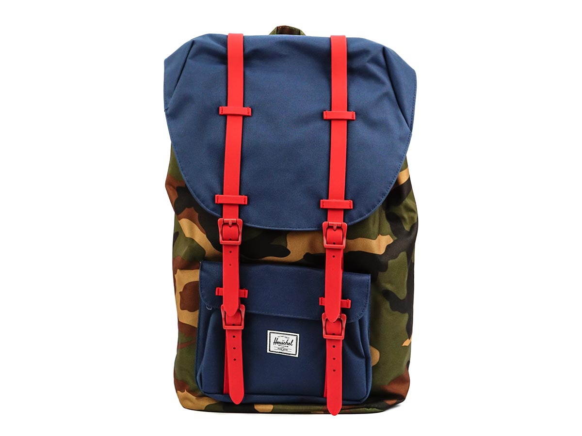 5660b05f7 10014 Herschel back pack 309 RCMO / camouflage pattern backpack mens Womens