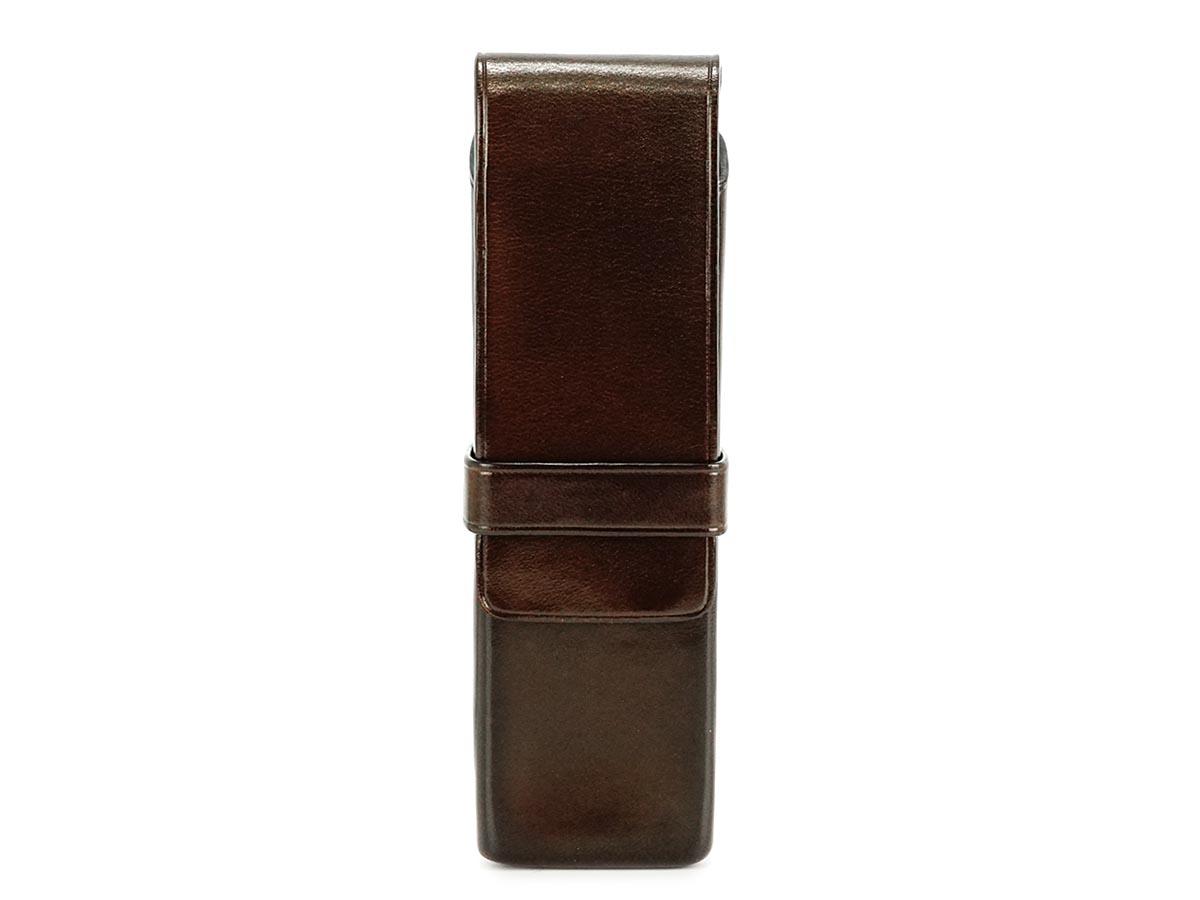 Il Bussetto イルブセット ペンケース 7815104 D.BROWN ダークブラウン ペンホルダー 筆箱 メンズ レディース 【送料無料】