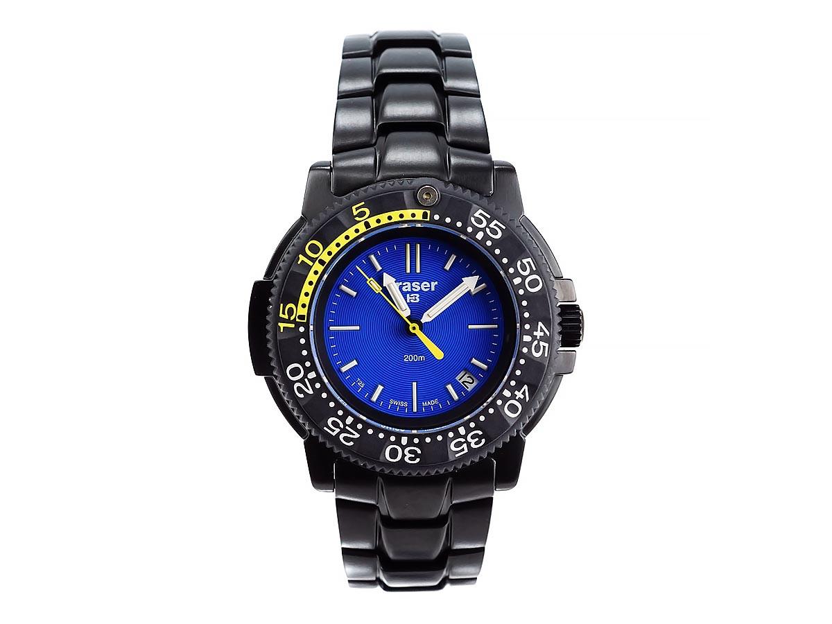 TRASER トレーサー メンズ腕時計 9031522 P6704 Officer Pro ブラック ミリタリーウォッチ 【送料無料 並行輸入品】