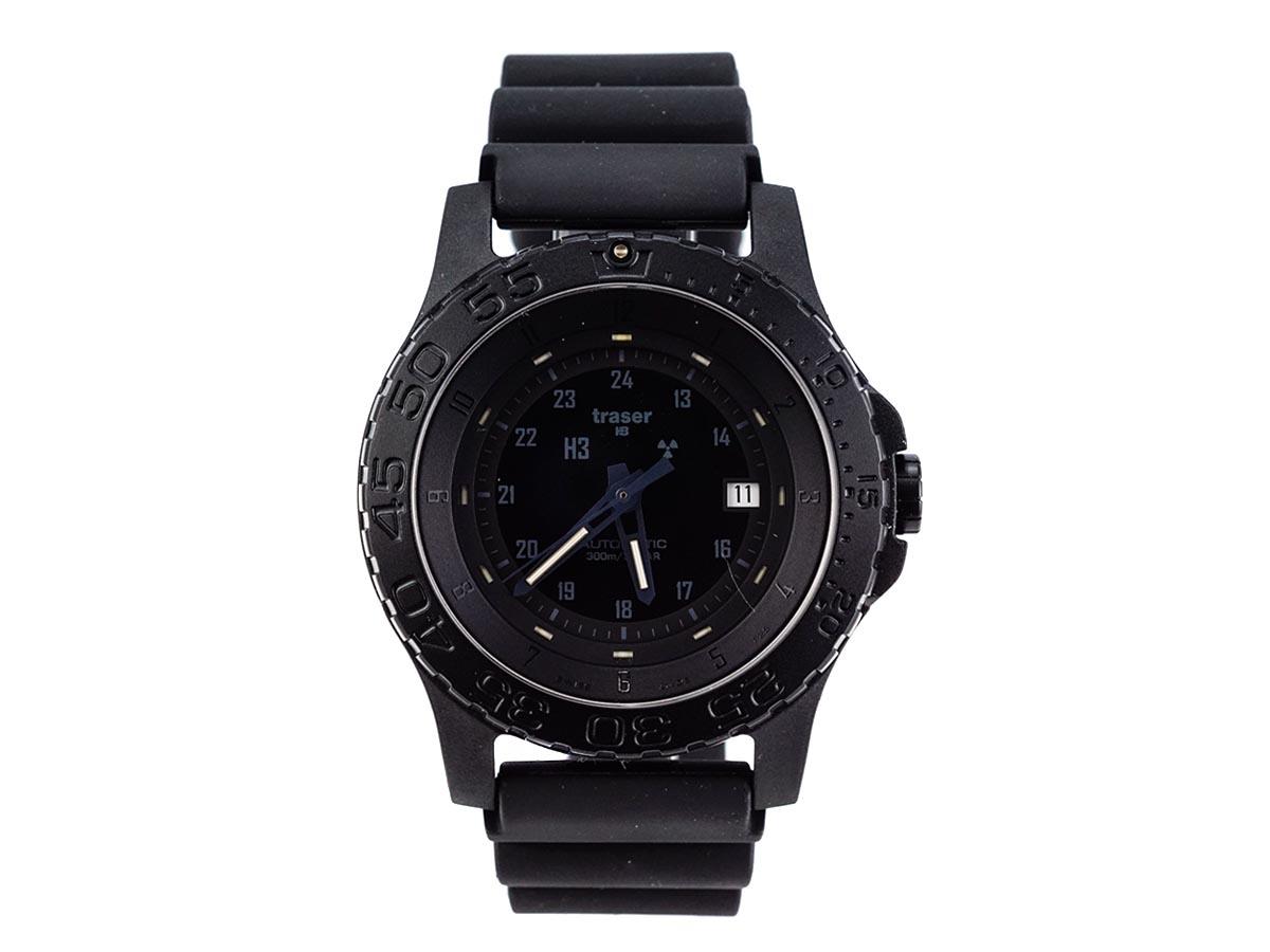 TRASER トレーサー メンズ腕時計 9031565 P66000 MIL-G BLACK ブラック ミリタリーウォッチ 【送料無料】