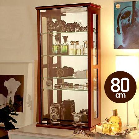 コレクションケース コレクションラック 【送料無料】 『コレクションケースColete〔コレテ〕高さ80cm』 フィギュアケース