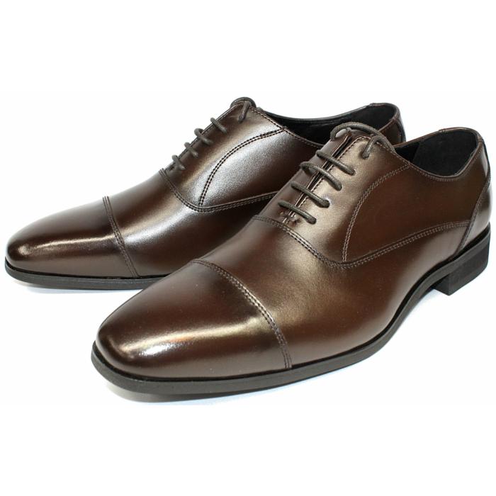 FRANCO GALLERIA TERRA SHOE STORE 24.5cm~27.0cm 紳士靴 大人気! 本革 ビジネスシューズ 内羽根ストレートチップ 商い