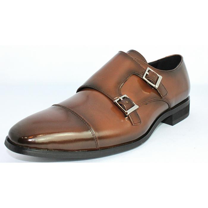 FRANCO おすすめ特集 GALLERIA TERRA SHOE STORE ビジネスシューズ 本革 ダブルモンクストラップ 紳士靴 送料無料限定セール中 24.5cm~27.0cm