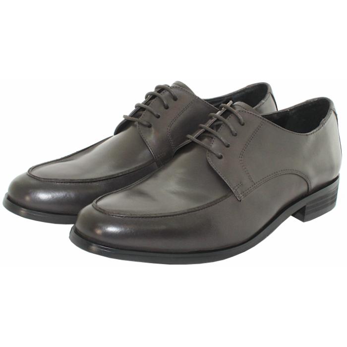 カジュアルにも合います TERRA SHOE STORE外羽根Uチップモカ 24.5cm~27.0cm ビジネスシューズ 本革 希望者のみラッピング無料 紳士靴 格安店