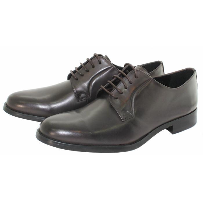 ビジネスでもカジュアルでもシンプルな1足 TERRA 販売実績No.1 SHOE STORE 外羽根プレーントゥ 倉 本革 紳士靴 ビジネスシューズ 24.5cm~27.0cm