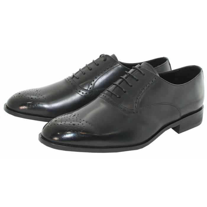 トゥのメダリオンがお洒落を演出 TERRA 新品 送料無料 SHOE STORE 内羽根プレーンメダリオントゥ 安い 激安 プチプラ 高品質 24.5cm~27.0cm ビジネスシューズ 紳士靴 本革