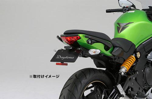 デイトナ(DAYTONA) フェンダーレスキット(車検対応LEDライセンスランプ付き) Ninja400('14)用 79404 / 02P07Feb16