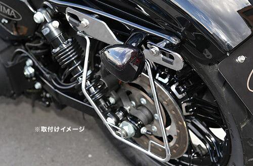 キジマ(KIJIMA) ハーレー 04y- スポーツスター[Sportster](XL1200CXを除く)用 サドルバッグガード 左側用 HD-08001