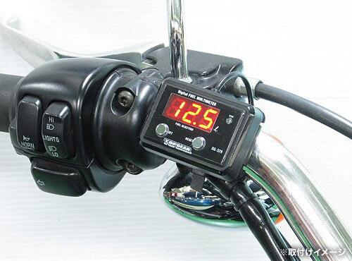 プロテック DG-HD01 HARLEY(ハーレー) スポーツスター1200R/C ['04~'06 XL1200R/C]専用精密燃料計 デジタルフューエルマルチメーター (フューエルメーター) 11507 / 02P07Feb16