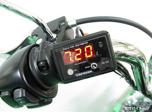 プロテック DG-HD03 HARLEY(ハーレー) スポーツスターXL1200['12~ XL1200V/X]専用精密燃料計 デジタルフューエルマルチメーター (フューエルメーター) 11510 / 02P07Feb16