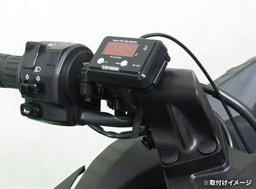 プロテック DG-K02 Ninja250 / Ninja250R['08~ EX250K/L]専用精密燃料計 デジタルフューエルマルチメーター (フューエルメーター) 11512 / 02P07Feb16
