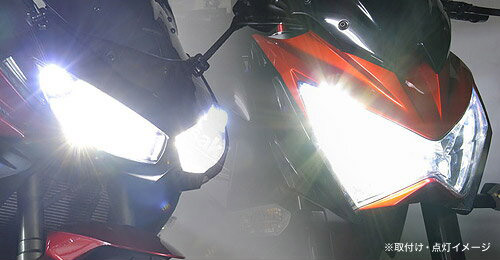 LEDポジションランプ(LEDポジション球[T10ウェッジ球])おまけ 即納 プロテック CBF600S / CBR600RR / Ninja1000 / Ninja650 / Ninja400 / YZF-R25等用 LEDヘッドライトバルブキット LB7-S H7 6000K 65029
