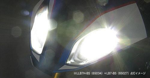 即納 プロテック BMW S1000RR['15~'19 K46]用 LEDヘッドライトバルブキット LB7H-BS H7 6000K ※Hiビーム側専用 65034