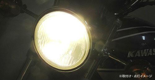 プロテック バイク用 LEDヘッドライトバルブキット(ショートヒートシンクタイプ) LB4-S3 H4 Hi/Lo 3000K 65044