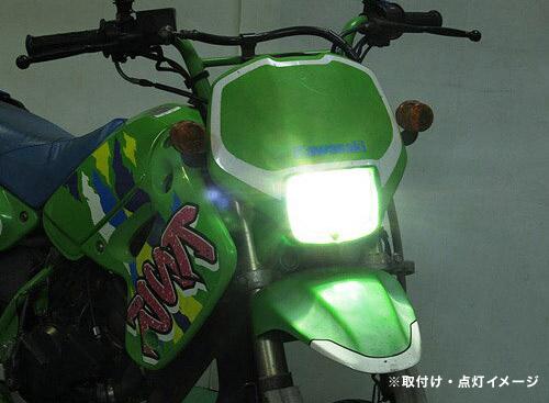 即納 プロテック 汎用(Mio125MotoGP / KSR用) LEDヘッドライトバルブキット LB7-ML PH7(PH7ソケットタイプ) 6000K 65048