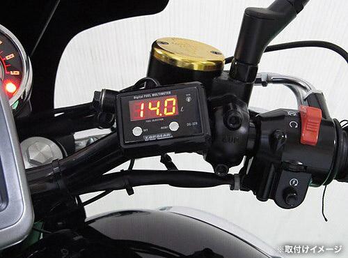プロテック DG-K05 W800['11~ EJ800A]専用精密燃料計 デジタルフューエルマルチメーター (フューエルメーター) 11526 / 02P07Feb16