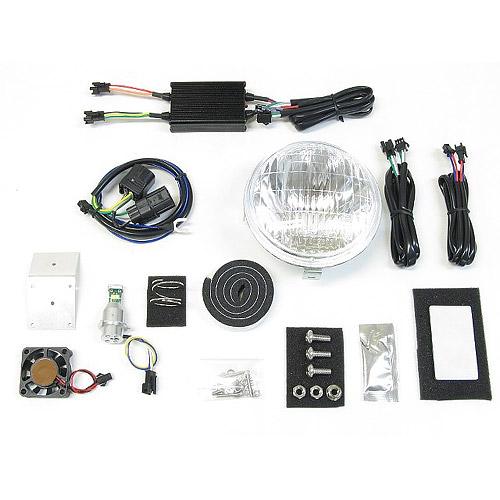 プロテック LBH-H11 送料無料 激安 お買い得 キ゛フト スーパーカブ110プロ '18~ JA42 LEDクラシカルヘッドライトkit 高価値 用 63008-60 6000K